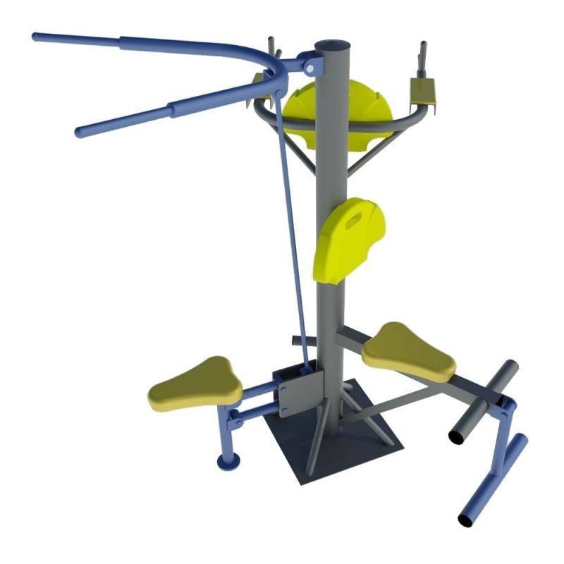 Уред за крака за фитнес на открито