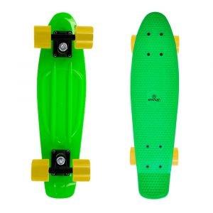 Пени борд SPARTAN Plastic Board 22.5, Зелен
