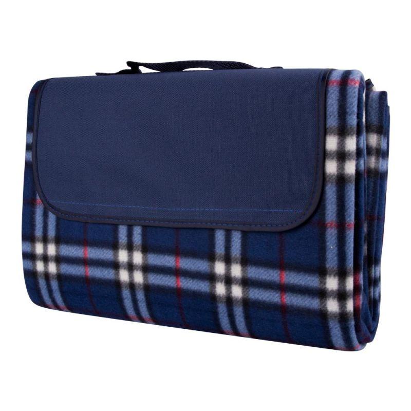 04e5b8a35af Одеяло за пикник inSPORTline 130 x 180 см, Синьо каре