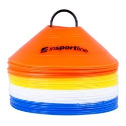 Комплект тренировъчни чинийки inSPORTline B40 5 см