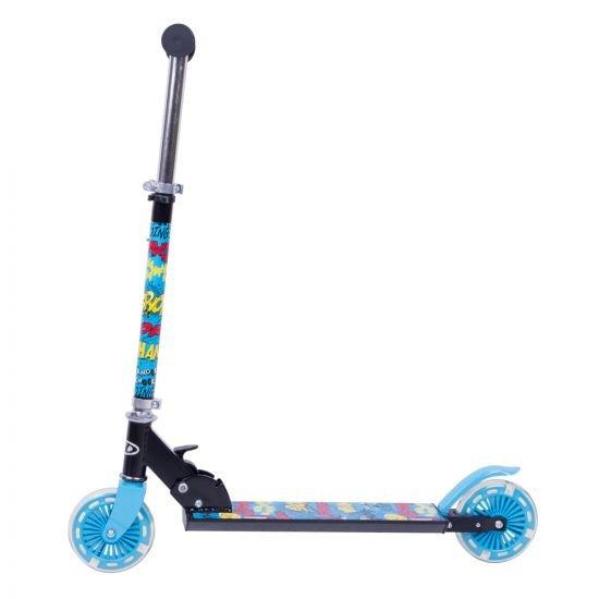 Тротинетка WORKER  Plofi със светещи колела