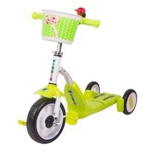 Детска триколка с педали 2 в 1 WORKER Blagrie
