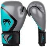 Боксови ръкавици VENUM CONTENDER 2 Grey turquoise