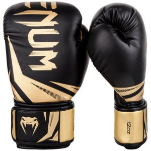 Боксови ръкавици VENUM Challenger 3 Black gold