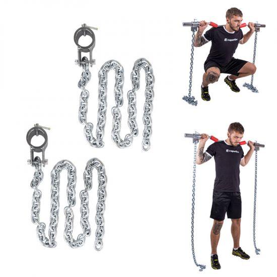 Комплект тренировъчни вериги inSPORTline Chainbos 2x30kg
