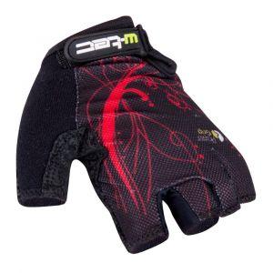 Вело ръкавици W-TEC Mison, Черен/червен