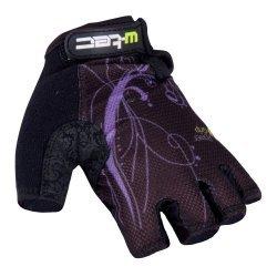 Вело ръкавици W-TEC Mison, Черен/лилав