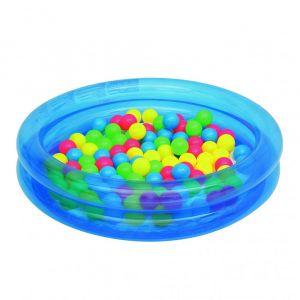 Надуваем басейн за топки