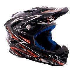 Велосипеден шлем W-TEC AP-42 черно-оранжев