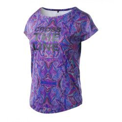 Дамска тениска IQ Gamtria Wmns blue optic print