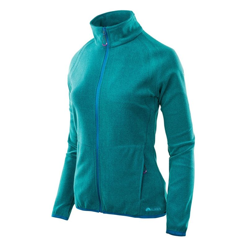 07240ed46d Womens fleece jacket ELBRUS Reeta Wo s, Turquoise