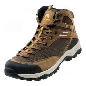 Мъжки високи обувки ELBRUS Delen Mid WP, Кафяв