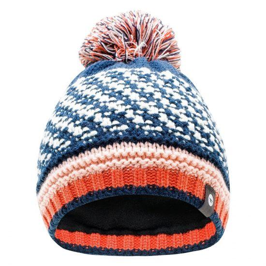 Зимна шапка за деца HI-TEC Hansa Jr Insignia blue