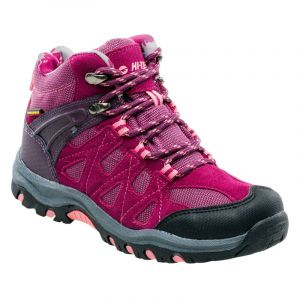 Детски обувки HI-TEC Kaori Mid WP Jr, Лилав