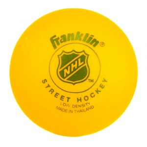 Топка за стрийт хокей FRANKLIN NHL, Жълт