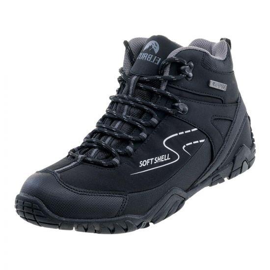 Мъжки високи обувки ELBRUS Maash Mid WP, Черен