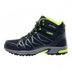 Мъжки високи обувки ELBRUS Gabby Mid WP, Зелен
