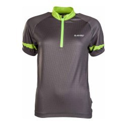 Мъжка вело тениска HI-TEC Gaute, Зелен