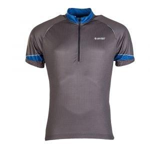 Мъжка вело тениска HI-TEC Gaute, Син