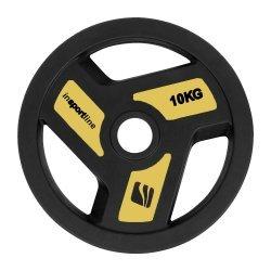 Гумиран диск inSPORTline Herk 10 кг