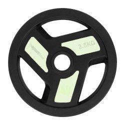 Гумиран диск inSPORTline Herk 2.5 кг
