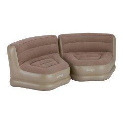Надуваем комплект столове VANGO Relaxer