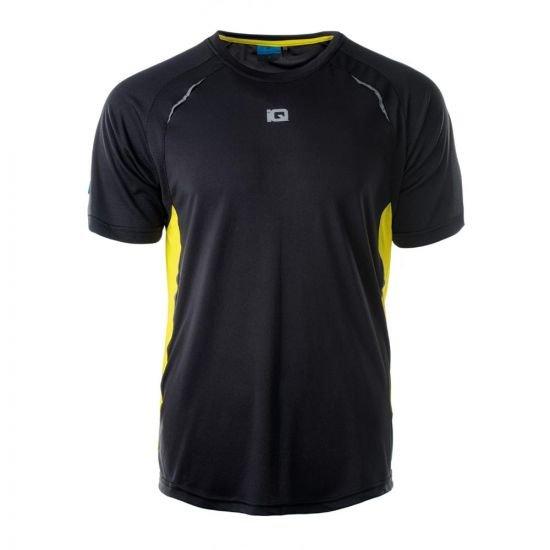 Мъжка тениска IQ Tanat, Черен
