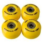 Резервни колела за скейтборд с лагери WORKER 50 x 30 мм