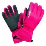 Дамски зимни ръкавици HI-TEC Lady Galena, Циклам
