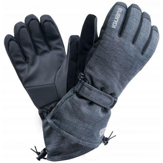 Мъжки ръкавици IGUANA Axel, Черен