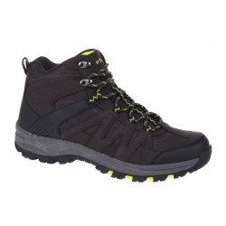 Мъжки средно високи обувки MARTES Woodland Mid, Черен