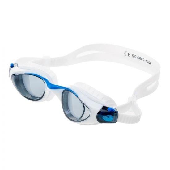 Очила за плуване AQUAWAVE Buzzard, Бял