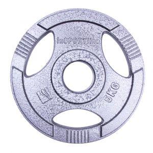 Олимпийски стоманен диск inSPORTline Hamerton 5 кг