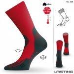 Термо чорапи LASTING TCL, Червен