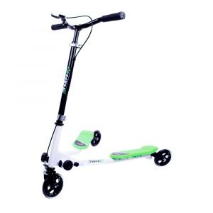 Три скутер WORKER Fliker 100, Зелен