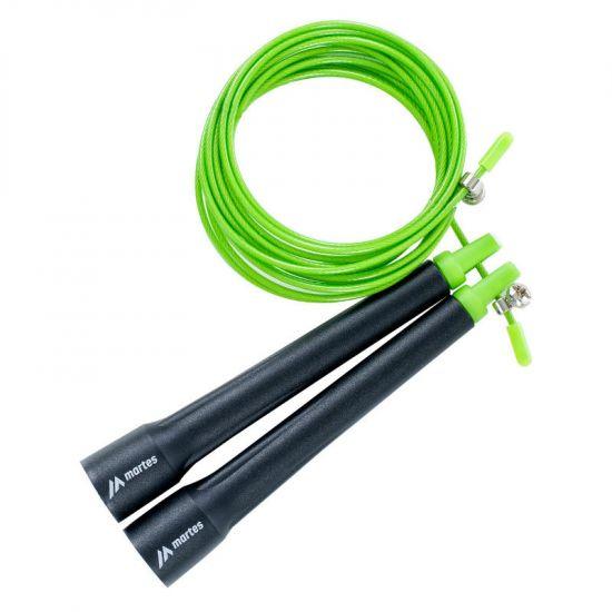 Въже за скачане MARTES Crossjump, Черен/Зелен