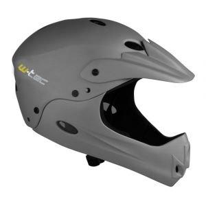 Велосипеден шлем W-TEC Downhill, Тъмно сив