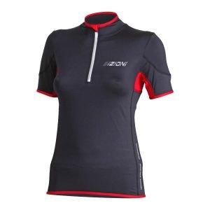 Дамска вело тениска BIZIONI WD21, Черен