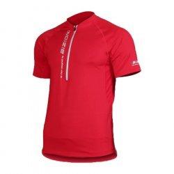 Мъжка вело тениска BIZIONI MD22, Червен