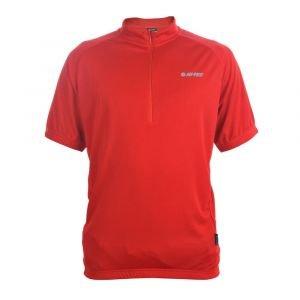 Мъжка вело тениска HI-TEC Fabi, Червен