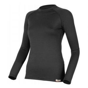 Вълнена термо блуза LASTING Atila, Черен