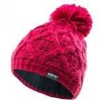 Зимна шапка за деца HI-TEC Bell Jr, Вишнев
