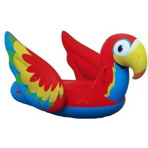 Надуваем дюшек Bestway Peppy Parrot