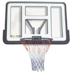 Баскетболен ринг с табло Spartan Transparent
