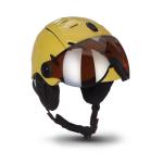Каска за ски и сноуборд МОТО К96 Yellow