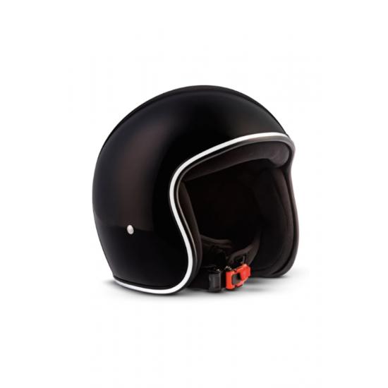 Каска за скутер MOTO R2, Черен