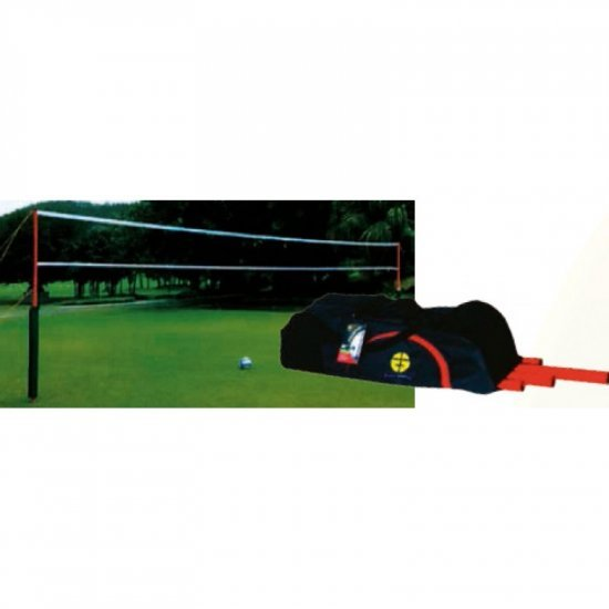 Комплект с мрежа за плажен волейбол SPARTAN Beach Deluxe 01
