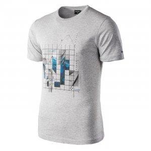 Мъжка спортна тениска HI-TEC NEROD, сив